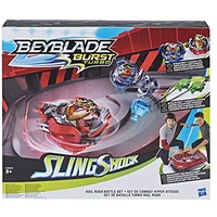 Hasbro Beyblade Burst SlingShock Rail Rush Battle Set (E3629EU4)