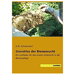 Grundriss der Bienenzucht. G. M. Schweickert  - Buch