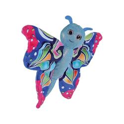 WILD REPUBLIC  Kuscheltier HUGGERS Schmetterling blau