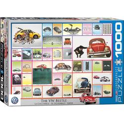 empireposter Puzzle VW Käfer Werbung im Wandel der Zeit - 1000 Teile Puzzle im Format 68x48 cm, 1000 Puzzleteile