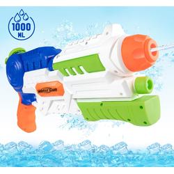 Homewit Wasserpistole Spielzeugpistole, Wasserpistole Kinder Pool Wasserspielzeug, Sommer Spielzeug für Mädchen Junge, Wasserspiele für Garten und Strand Party Blaster Badestrand (1-tlg)