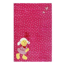 Teppichart Schnuggi pink Gr. 80 x 150