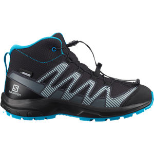 Salomon Kinder XA Pro V8 Mid CSWP Schuhe (Größe 32, Schwarz)