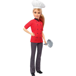 Mattel® Anziehpuppe Barbie Köchin Puppe, blond