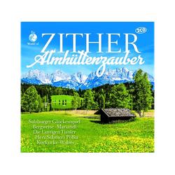 VARIOUS - Zither Almhüttenzauber (CD)