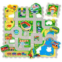 Hakuna Matte Puzzlematte - City (120 x 120 cm)