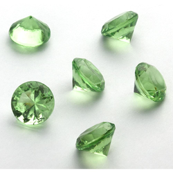 Deko Diamanten Dekosteine Tischdeko Dekoration 20mm - grün