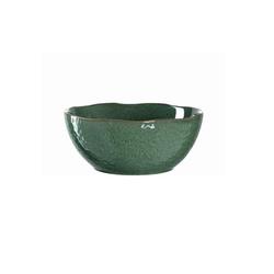 Glas Koch Keramikschale Matera in grün, 24 cm