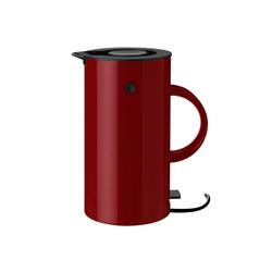 Stelton Wasserkocher Stelton EM77 Wasserkocher 1,5 Liter warm maroon/rot