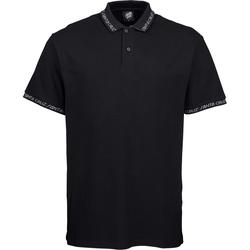Tshirt SANTA CRUZ - Undercover Polo Top Black (BLACK)