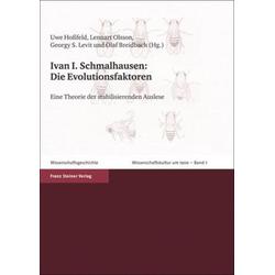 Die Evolutionsfaktoren als Buch von Ivan I. Schmalhausen