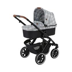 ABC Design Kombi-Kinderwagen Kombi Kinderwagen Salsa 4, gravel schwarz