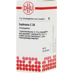 EUPHRASIA C 30 Globuli 10 g