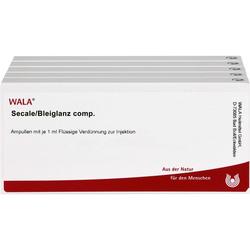 SECALE/BLEIGLANZ comp.Ampullen 50 ml