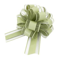 Geschenkschleife Deko Schleife für Geschenke Tüten Zuckertüte Weihnachten Geschenkdeko - grün