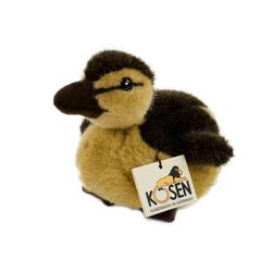 Kösen Kuscheltier Entenküken 19 cm braun-gelb (Babyente Entenbaby Plüschtier Stofftiere)