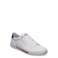 Tommy Hilfiger Essential Leather Sneaker Niedrige Sneaker Weiß TOMMY HILFIGER Weiß 43,44,41