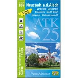Neustadt an der Aisch 1 : 25 000