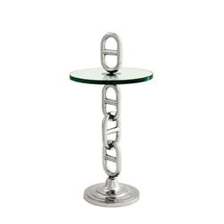 Casa Padrino Luxus Art Deco Designer Beistelltisch 38 x H. 79 cm - Luxus Beistelltisch