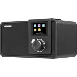 Noxon iRadio 410+ (FM, DAB+, Internetradio, WLAN), Radio, Schwarz