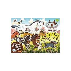 Die Haferhorde Puzzle - Auf die Möhre  fertig  los! (Kinderpuzzle)