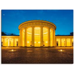 Artland Wandbild Elisenbrunnen Aachen, Gebäude (1 Stück) 120 cm x 90 cm