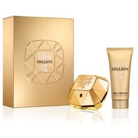 Paco Rabanne Lady Million Eau de Parfum 80 ml + Body Lotion 100 ml Geschenkset