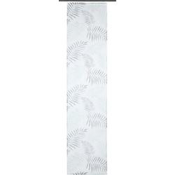 Schiebegardine PAULA, my home, Klettschiene (2 Stück) 57 cm x 245 cm