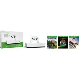 Microsoft Xbox One S 1TB weiß - All Digital Edition (Bundle)