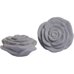 Fabriano Dekoobjekt Rose (Set, 2 Stück) Ø 20 cm x 8,5 cm