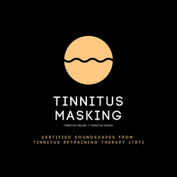 Tinnitus Masking / Tinnitus Relief / Tinnitus Music als Hörbuch Download von Tinnitus Research Center/ Laurence Goldman