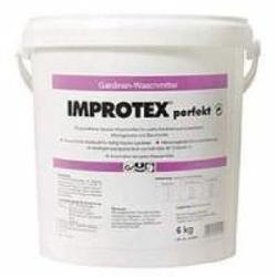 Improtex perfekt Gardinenwaschmittel, Phosphatfreies Gardinenwaschmittel, 6 kg - Eimer