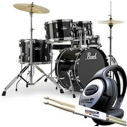 Pearl Drums Schlagzeug Pearl Roadshow Schlagzeug 18 + Kopfhörer +Sticks