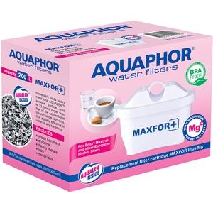 AQUAPHOR MAXFOR+ Mg Pack 1 Wasserfilterkartusche, Kunststoff, Weiß, 200 l