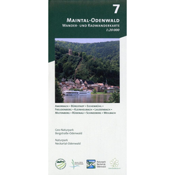 Maintal-Odenwald 1:20.000