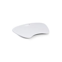 HTI-Living Laptoptisch Laptop-Schoßtablett MDF, Schoßtablett wei�