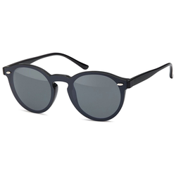 styleBREAKER Sonnenbrille Monoglas Sonnenbrille Getönt schwarz