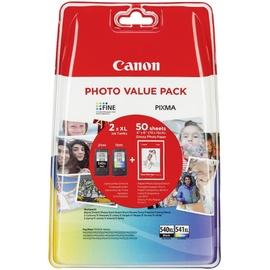 Canon PG-540XL schwarz + CL-541XL CMY