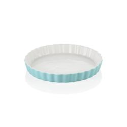 LOVECASA Quicheform, (1-tlg), 1 tlg. Backform aus Porzellan blau