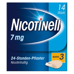 NICOTINELL 7 mg/24-Stunden-Pflaster 17,5mg 14 St