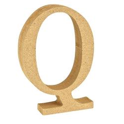 """VBS Buchstaben """"MDF"""" 8 cm x 1,5 cm bunt Buchstabe """"Q"""""""