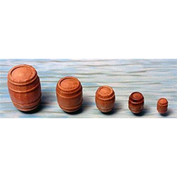 Krick Wasserfässer 23x30 mm (5 Stk) / 60624