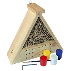 Windhager Insektenhotel Bausatz Bee, BxTxH: 16,5x10,5x27 cm