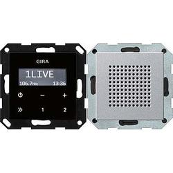 Gira Unterputz-Radio RDS System 55 alu 228026