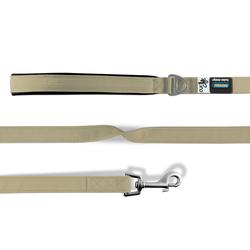 Curli Basic Leine Nylon tan, Maße: 140 cm / 1,5 cm