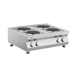 Royal Catering Elektroherd Gastro - 10.400 W - 4 Platten RC-ECP4T