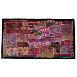 Wandteppich Indischer Wandteppich Patchwork.., Guru-Shop, Höhe 65 mm