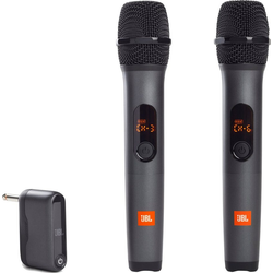 JBL Mikrofon wireless Microphone (Set), 2 Mikrofone und 1 Dongle