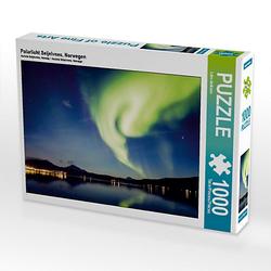 Polarlicht Seljelvnes, Norwegen Lege-Größe 64 x 48 cm Foto-Puzzle Bild von Lain Jackson Puzzle