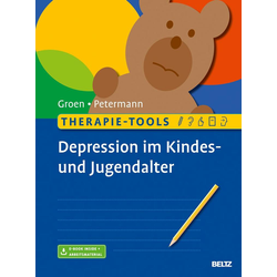 Therapie-Tools Depression im Kindes- und Jugendalter: Buch von Gunter Groen/ Franz Petermann